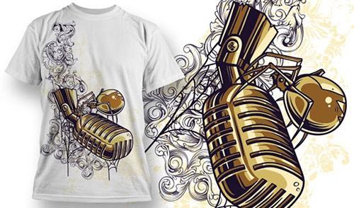 Vector T-Shirt Design 691