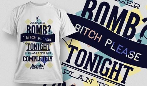 Vector T-Shirt Design 684