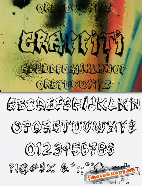 Graffiti Fonts Pack 2