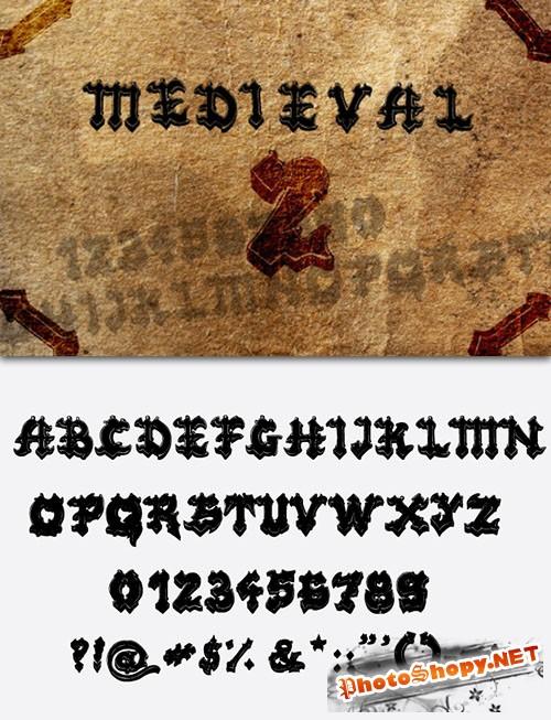 Medieval Fonts Pack 2