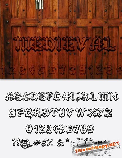 Medieval Fonts Pack 1