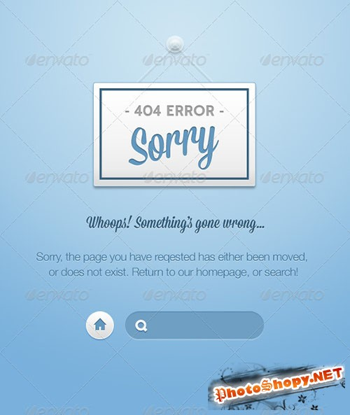 GraphicRiver - Nice 404's
