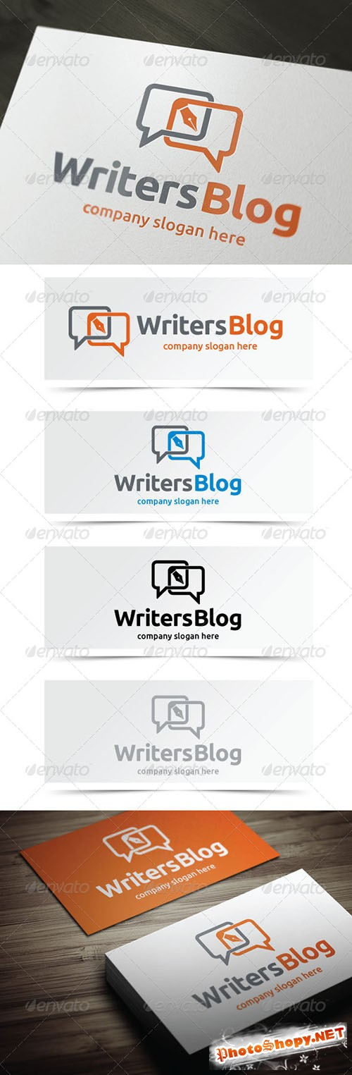 GraphicRiver - Writers Blog 5262060