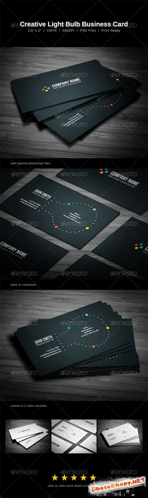 GraphicRiver - Creative Business Card 1378606