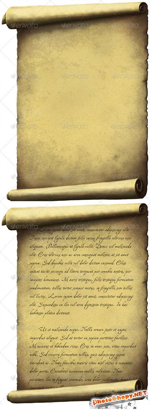 GraphicRiver - Old Scroll paper 3366016
