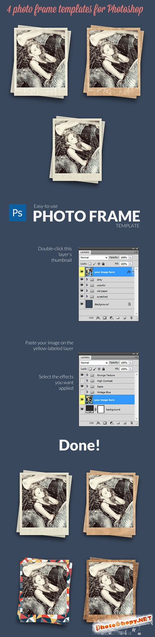 Designtnt - Photo Frames PS Generator